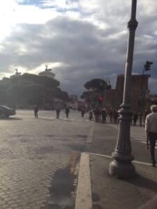 Largo Corrado Ricci: 22 aprile 2013, tra le ore 17 e le 18